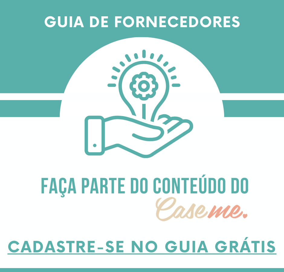 Faça parte do Guia de Fornecedores CaseMe - gratis